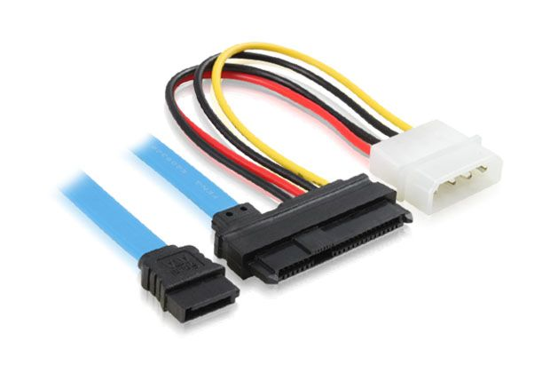 Переходник SATA + Molex на SAS 22Pin Greenconnect GC-ST303